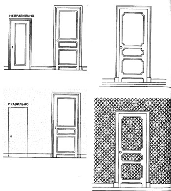 входные двери и двери встроенных шкафов