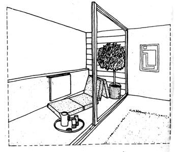 достоинство лоджии-расширение жилого пространства