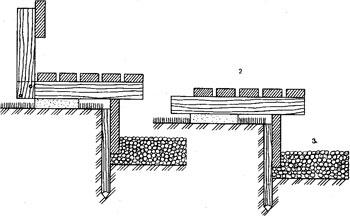 примеры расположения скамеек вогруг углубленнго очага