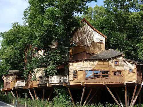 дом невероятной конструкции