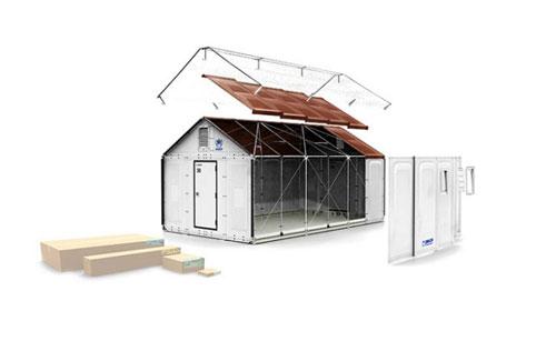 Конструкция сборного дома от IKEA