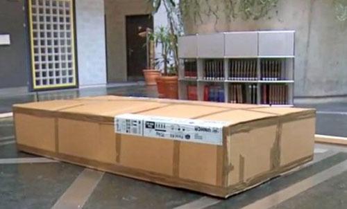 Сборный дом IKEA в упаковке
