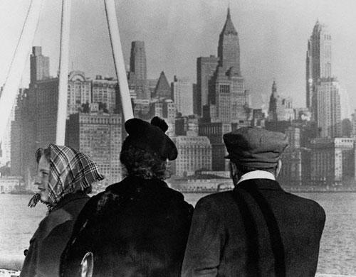 строительство небоскреба Манхеттена