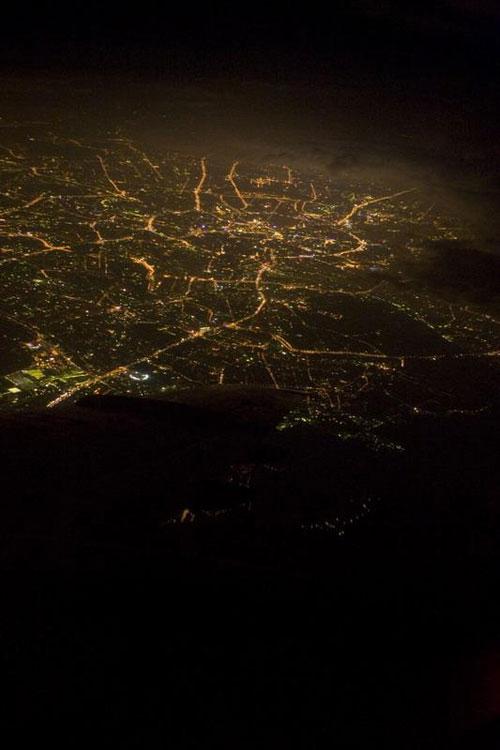 ночная Мосвка
