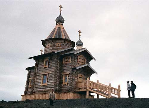 Троицкий храм. Антарктида