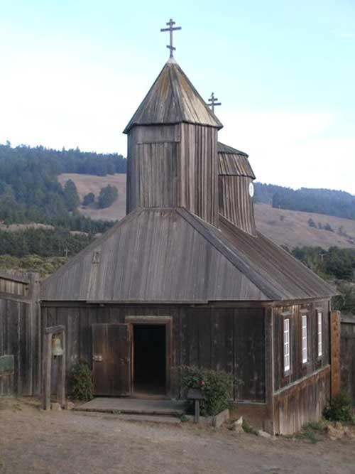 Церковь Рось Крепость. США