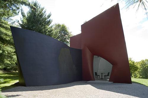 Стеклянный дом Филиппа Джонсона